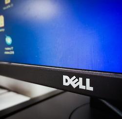 DELL brand desktop computer